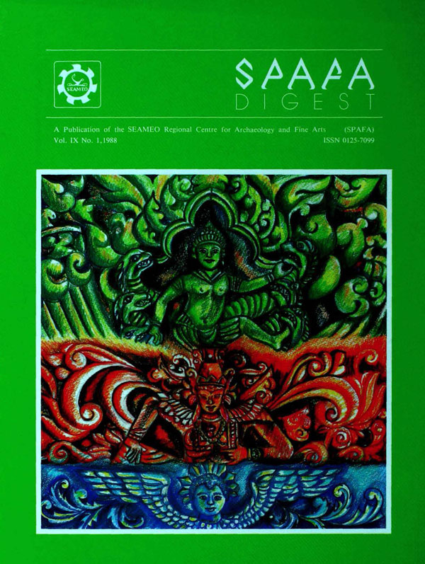 View Vol. 9 No. 1 (1988)