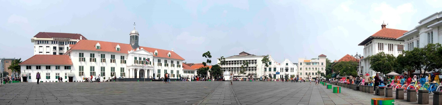 Jakarta History Museum and Fatahillah Square. Source: Setio Martinus 2016.
