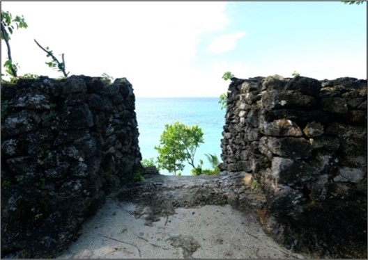 The Gate of Palahidu Fortress. Source: Regional Agency for Archaeological Research in South Sulawesi Province, 2019